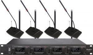 U段高端无线会议话筒(一拖二四八)BVS-U972/974/978