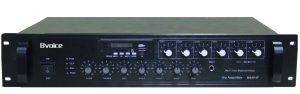 带MP3/收音/六音控分区合并式功放