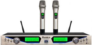 U段一拖二无线话筒(手持、领夹、头戴可选)BVS-U903