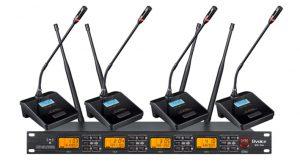 UHF无线一拖二/四/八会议话筒BV-U962/U964/968