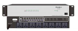 会议系统管理主机(带电源+矩阵)  BV-C8005